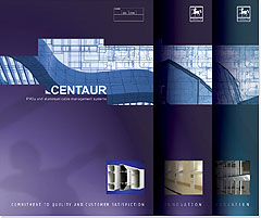 Centaur Manufacturing  Catalogue Design Covers Image