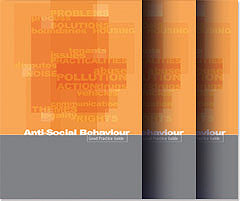Anti-Social Behaviour Publication Design Covers PDF Image
