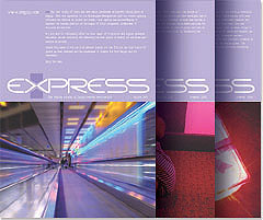 Express Magazine Design Covers PDF Image